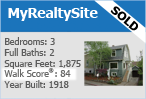 real estate website using the Walk Score API on their website