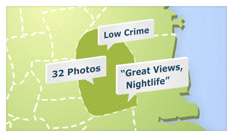 comments and photos in the local neighborhood